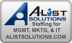 A-List Solutions-Staffing for MGMT, MKTG, & IT